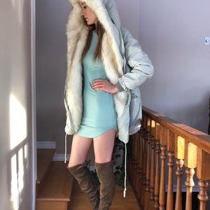 Style By HaeJu Faux Fur Coat